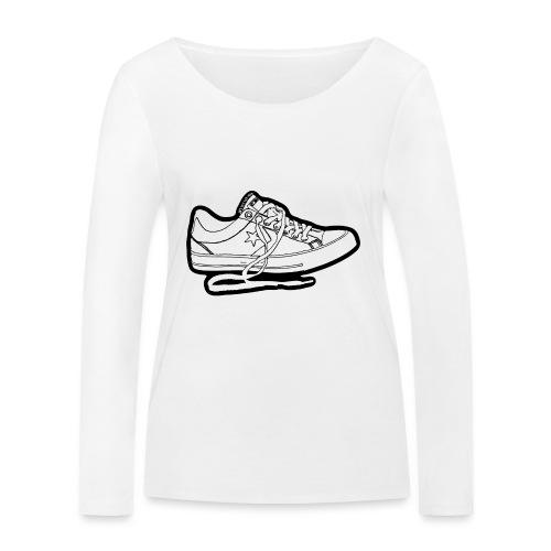 sneaker1 - Ekologisk långärmad T-shirt dam från Stanley & Stella
