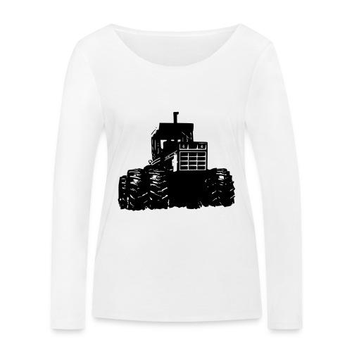 IH 4WD Tractor - Women's Organic Longsleeve Shirt by Stanley & Stella