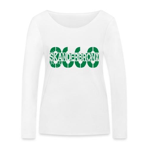 SKANDERBRONX - Økologisk Stanley & Stella langærmet T-shirt til damer