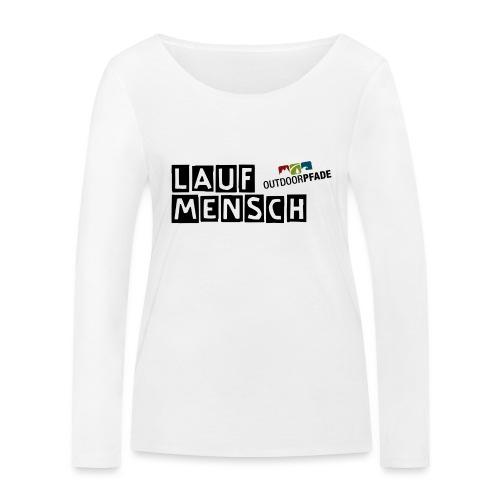 LaufMensch#01 - Frauen Bio-Langarmshirt von Stanley & Stella