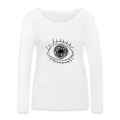 EYE! - Women's Organic Longsleeve Shirt by Stanley & Stella