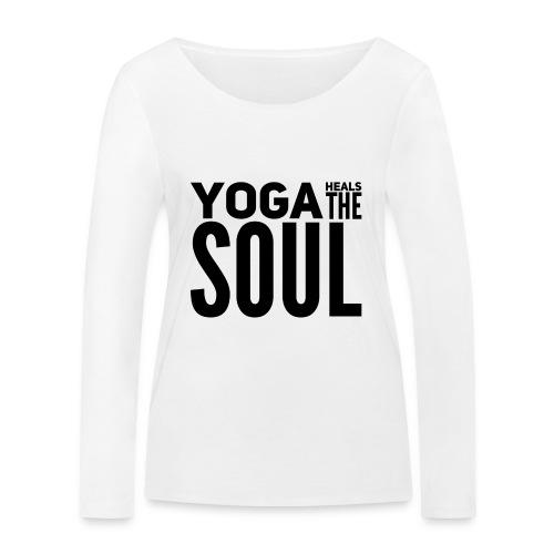 yogalover - Vrouwen bio shirt met lange mouwen van Stanley & Stella