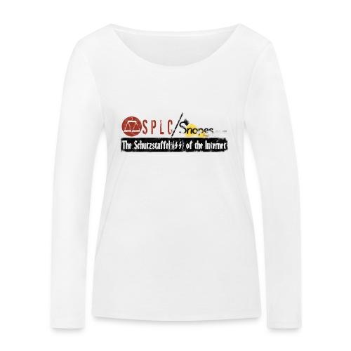 SPLC and SNOPES Schutzstaffel OF THE INTERNET - Women's Organic Longsleeve Shirt by Stanley & Stella