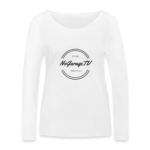 NoGarageTV (3) - Økologisk Stanley & Stella langærmet T-shirt til damer