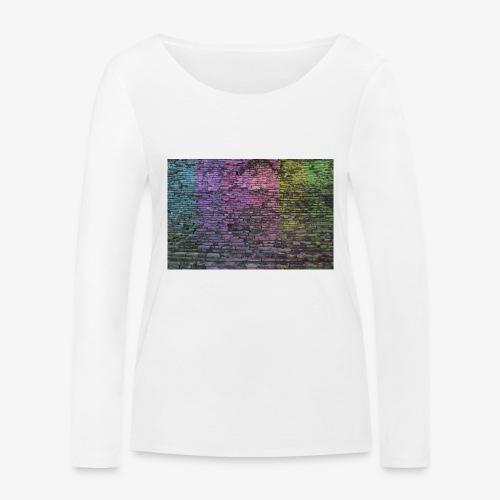 Regenbogenwand - Frauen Bio-Langarmshirt von Stanley & Stella