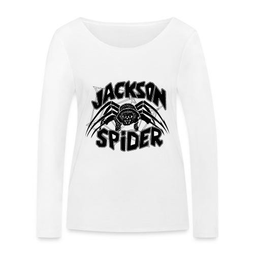 jackson spreadshirt - Frauen Bio-Langarmshirt von Stanley & Stella