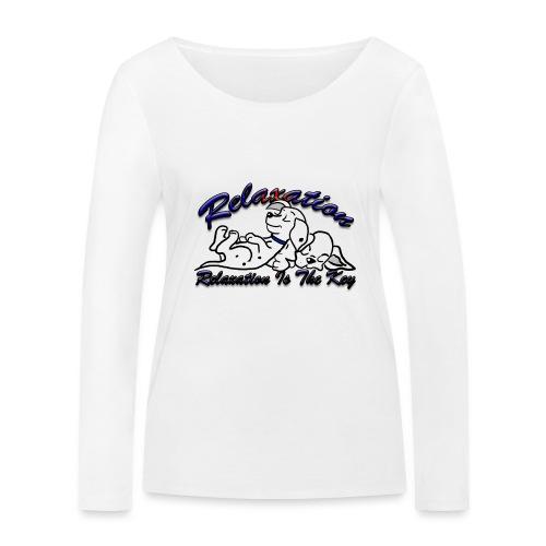 Relaxation Is The Key - Women's Organic Longsleeve Shirt by Stanley & Stella