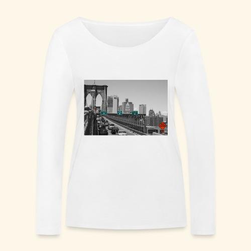 Brooklyn bridge - Maglietta a manica lunga ecologica da donna di Stanley & Stella