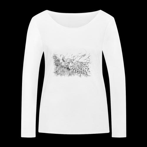 La panthère dans l'arbre - T-shirt manches longues bio Stanley & Stella Femme