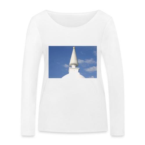 Stupa in Zalaszántó [2] - Frauen Bio-Langarmshirt von Stanley & Stella