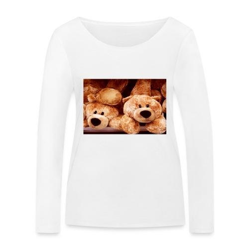 Glücksbären - Frauen Bio-Langarmshirt von Stanley & Stella