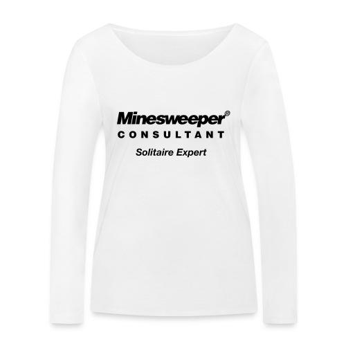minesweeper - Frauen Bio-Langarmshirt von Stanley & Stella