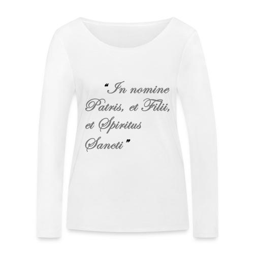 gebed nieuw png - Vrouwen bio shirt met lange mouwen van Stanley & Stella
