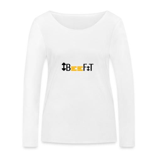 ibeefit slim fit t-shirt logo on back - Ekologisk långärmad T-shirt dam från Stanley & Stella