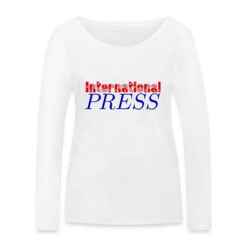 int_press-png - Maglietta a manica lunga ecologica da donna di Stanley & Stella