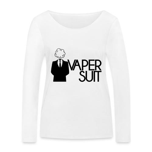 VAPER SUIT - Ekologiczna koszulka damska z długim rękawem Stanley & Stella