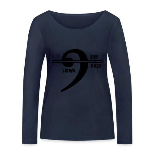 LIGWA SUB BASS - Women's Organic Longsleeve Shirt by Stanley & Stella