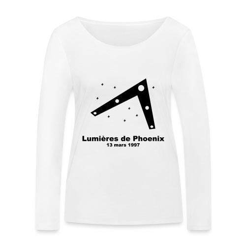 OVNI Lumieres de Phoenix - T-shirt manches longues bio Stanley & Stella Femme