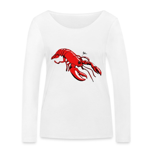 Lobster - Women's Organic Longsleeve Shirt by Stanley & Stella