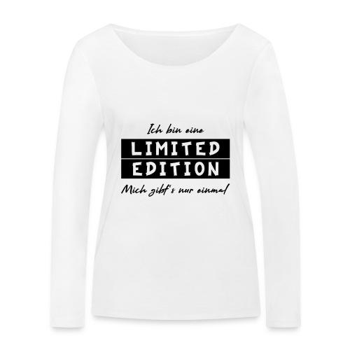 ich bin eine limit edition - Frauen Bio-Langarmshirt von Stanley & Stella