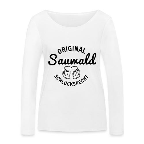 original sauwald schluckspecht - Frauen Bio-Langarmshirt von Stanley & Stella