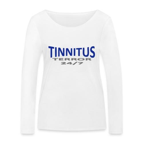 terror - Økologisk langermet T-skjorte for kvinner fra Stanley & Stella