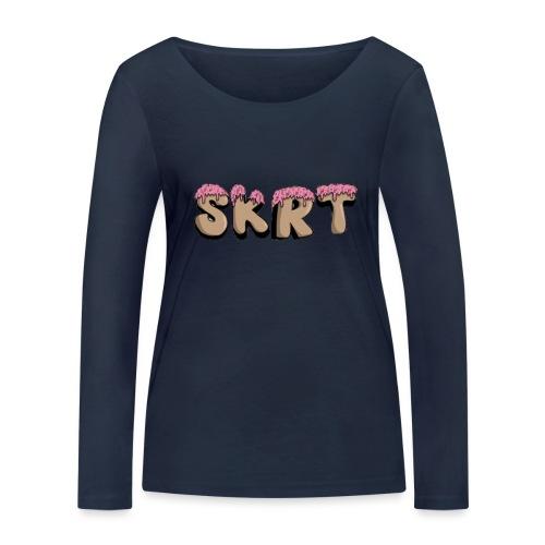 SKRT - Maglietta a manica lunga ecologica da donna di Stanley & Stella