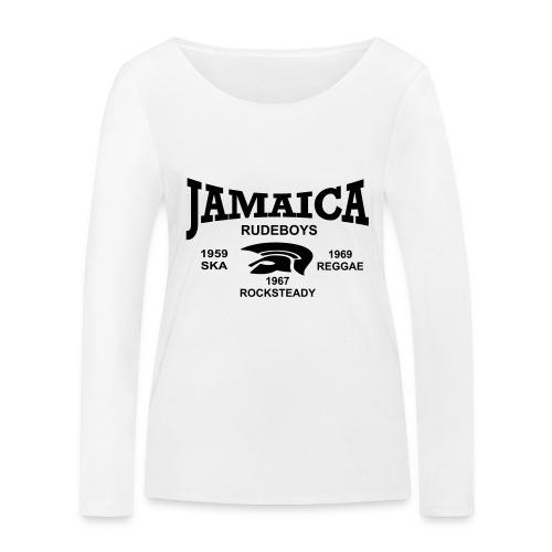 rudeboys jamaica trojan - Frauen Bio-Langarmshirt von Stanley & Stella