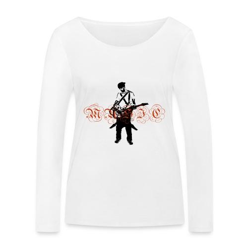 Guitarr Musician by Stefan_Lindblad - Ekologisk långärmad T-shirt dam från Stanley & Stella