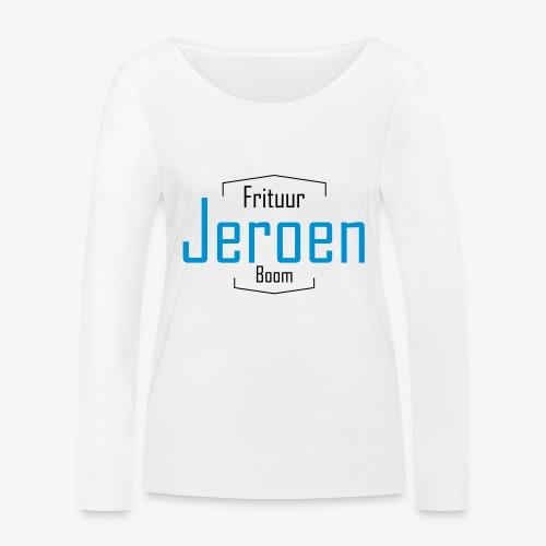 LogoJeroen - Vrouwen bio shirt met lange mouwen van Stanley & Stella