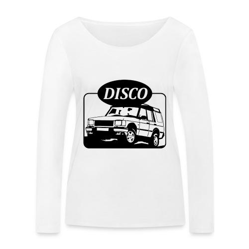 landroverdisco01dblack - Økologisk langermet T-skjorte for kvinner fra Stanley & Stella