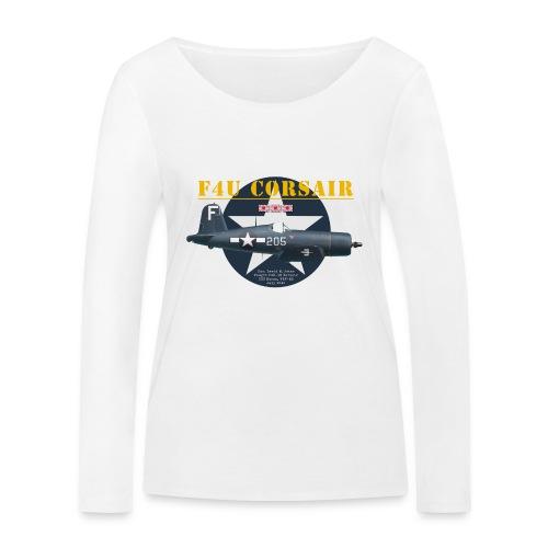 F4U Jeter VBF-83 - Women's Organic Longsleeve Shirt by Stanley & Stella