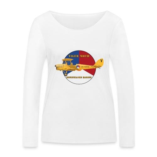 Tiger Moth Kon Marine - Women's Organic Longsleeve Shirt by Stanley & Stella