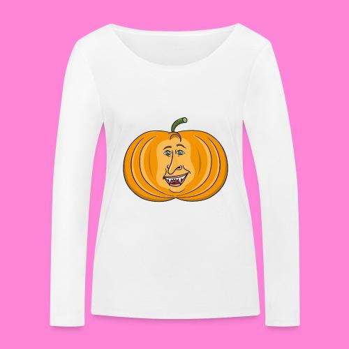 Rick pumpkin - Vrouwen bio shirt met lange mouwen van Stanley & Stella