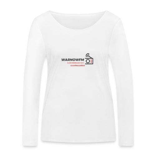 black simple radio outline - Frauen Bio-Langarmshirt von Stanley & Stella