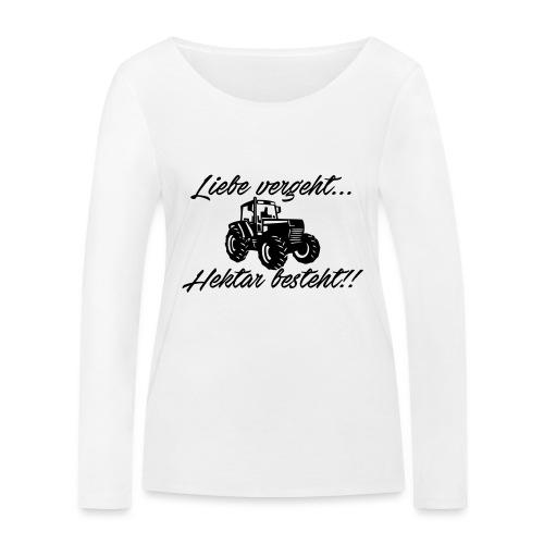 liebe vergeh - Frauen Bio-Langarmshirt von Stanley & Stella