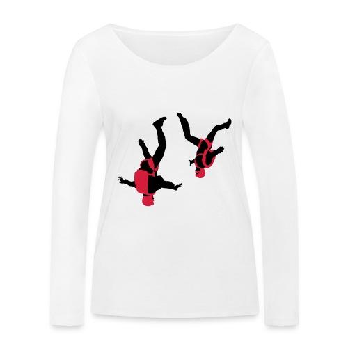 parachutisme Free Fly - T-shirt manches longues bio Stanley & Stella Femme