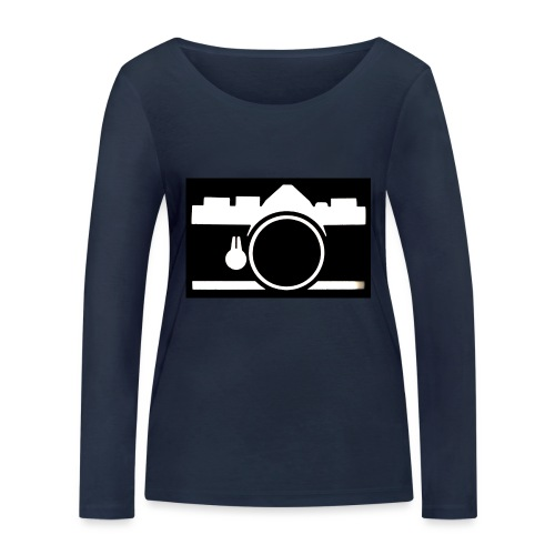 Vintage Camera - Maglietta a manica lunga ecologica da donna di Stanley & Stella