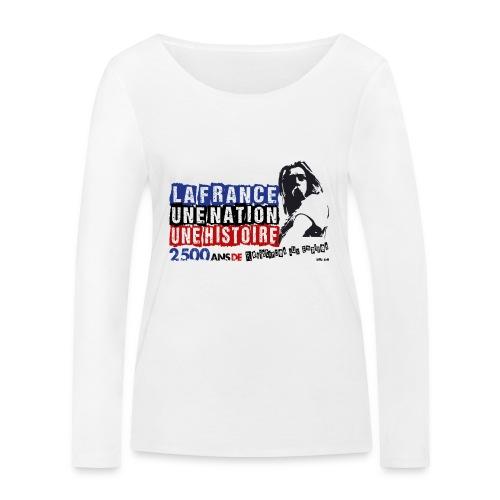 Vercingétorix - T-shirt manches longues bio Stanley & Stella Femme