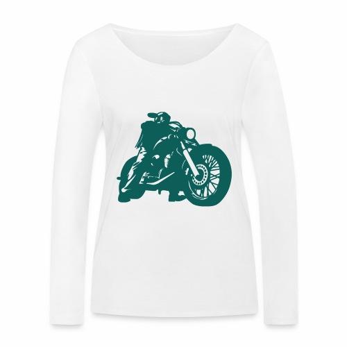 born to ride - Women's Organic Longsleeve Shirt by Stanley & Stella
