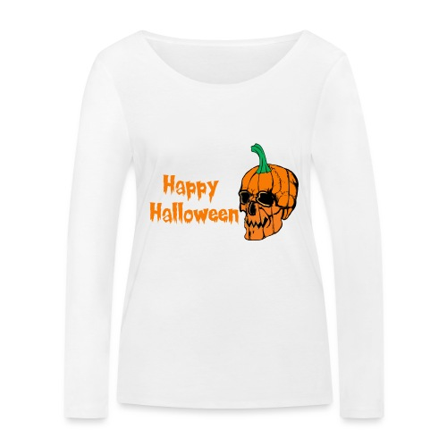 Happy Halloween - Women's Organic Longsleeve Shirt by Stanley & Stella