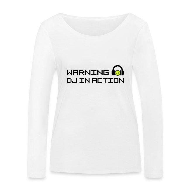 Warning DJ in Action