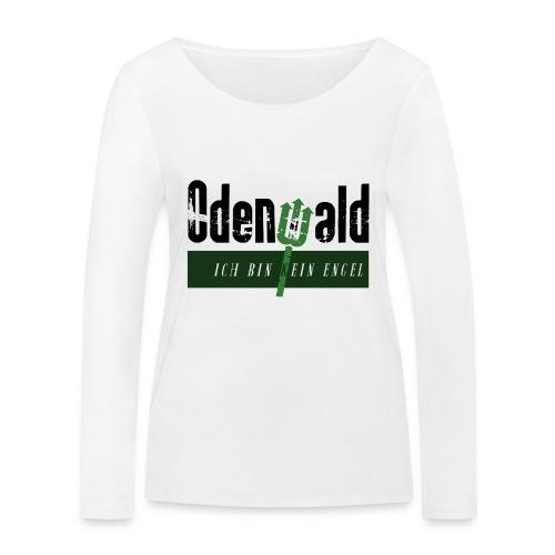 Odenwald - kein Engel - Frauen Bio-Langarmshirt von Stanley & Stella