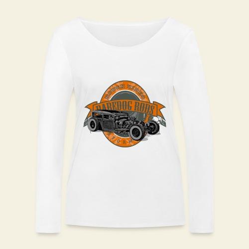 Raredog Rods Logo - Økologisk Stanley & Stella langærmet T-shirt til damer