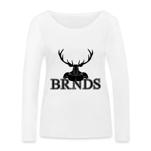 BRNDS - Maglietta a manica lunga ecologica da donna di Stanley & Stella