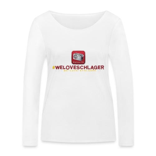 WeLoveSchlager de - Frauen Bio-Langarmshirt von Stanley & Stella