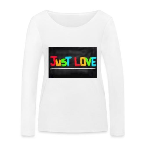 Just love tasse - T-shirt manches longues bio Stanley & Stella Femme