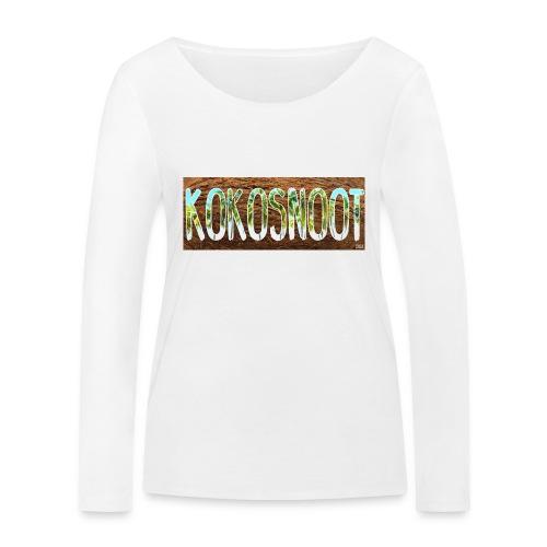 Kokosnoot - Vrouwen bio shirt met lange mouwen van Stanley & Stella