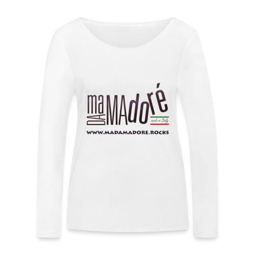 T-Shirt - Uomo - Logo Standard + Sito - Maglietta a manica lunga ecologica da donna di Stanley & Stella