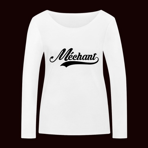 mechant_logo - T-shirt manches longues bio Stanley & Stella Femme